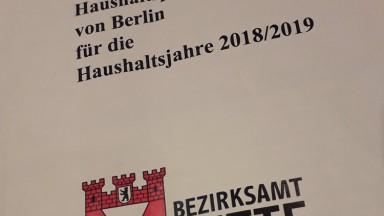 Bild des Titels des Haushaltsplans 2018-2019